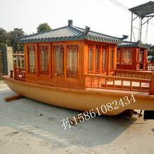 广东珠海供应木船旅游观光船餐饮木船厂家直销