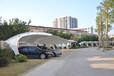 热销膜结构停车蓬专业充电站雨棚膜布材料