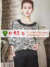 詩菲迪17夏高端大碼真絲連衣裙短袖品牌折扣走份批發北京惠品圖片