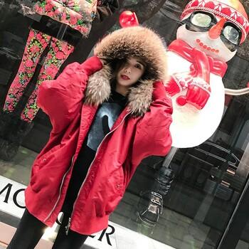 派克服高端羽绒服18冬欧版时尚品牌折扣女装走份北京惠品专柜正品
