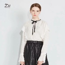 Z11女装上海19春季连衣裙外套时尚休闲个性潮女折扣尾货批发上海女装货源哪里有图片