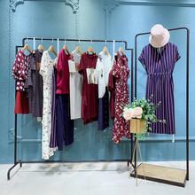 洛可可女装19夏装大码休闲原创设计师品牌女装折扣批发直播货源图片