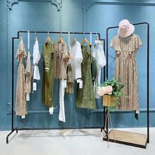 紛漫夏裝商場專柜女裝直播貨源杭州品牌折扣女裝折扣女裝批圖片