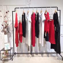阿凡迪诗女装19春广州高档设计师品牌上衣连衣裙套装折扣女装批发走份货源图片