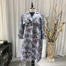 延邊真絲連衣裙秋冬季服裝尾貨批發市場圖片