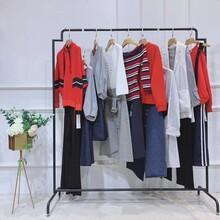 赫梵茜19秋冬女裝品牌服裝批發大連服裝批發市場百分之一女裝圖片
