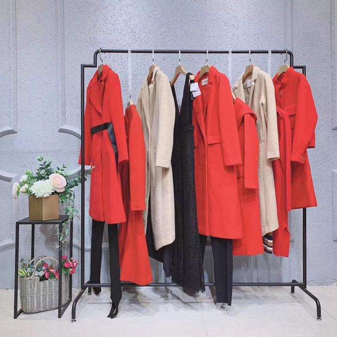 瑪仙娜中老年女裝冬季新款廣州服裝尾貨女裝棉服新款