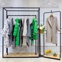 朵岑服裝折扣店加盟代理女裝品牌代理加盟中老年女冬裝羽絨服圖片