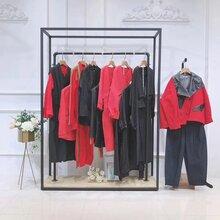 黑白绣品牌折扣店女装楠楠家中老年女装衬衫棉麻上海品牌女装有哪些图片