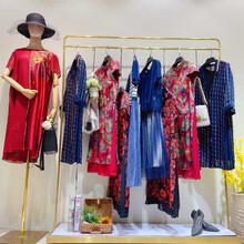 播元素女裝唯品女裝折扣店加盟代尾單貨古色服裝圖片