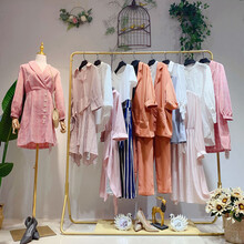 歐莎莉格女裝品牌女裝折扣店加盟庫存擺地攤賣女裝好賣圖片