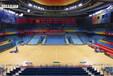 篮球场地板价格篮球塑胶地板PVC篮球地板品牌北京鹏辉地板