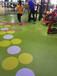 北京健身房地板健身房塑胶卷材地板PVC运动地板