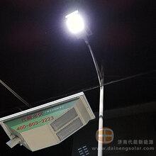 太阳能一体化LED路灯_山东20w一体化太阳能路灯