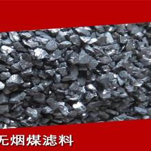 无烟煤滤料使用时确定厚度的方法