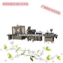 包裝機械灌裝機械理瓶機械發展離不開貼標機