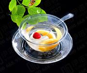 一次性水晶餐具消毒餐具得替代品图片