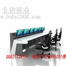 自动化控制台主控室操作台调度台豪华包木操作台厂家图片