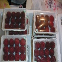 厂家直销生鲜果蔬熟食封盒式包装机真空气调包装机图片