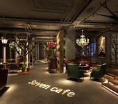 咖啡馆装修,上海工业风咖啡馆装修设计最新案例图片