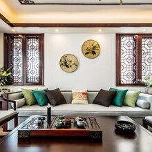 闵行凤凰城139平中式风格装修案例——闵行装修公司