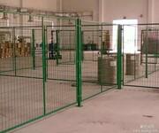 路杰丝网专业生产车间隔离栅框架护栏网车间防护网护栏网图片