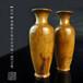 木雕工艺品木檀世家海南黄花梨木雕观音净瓶摆件E70号海黄储香瓶一对2只