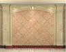 佛山凯莎恩迪艺术背景墙通体石材罗马柱水刀镶嵌背景墙