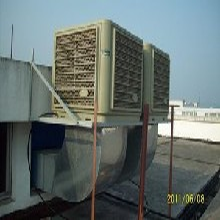 郑州车间工业冷风机,湿帘冷风机图片