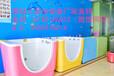 黑龙江出售新生宝宝冲洗台哈尔滨妇幼医院专用亚克力洗婴池图片道里区医用婴儿水疗池