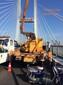 供应海伦哲牌升降车专业的司机一流的团队优惠的价格武汉及周边道路灯维修高架桥维护高空车出租