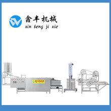 衡水全自动豆腐皮机豆腐皮机生产流程现场教学图片
