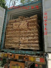 福建漳州大牛木制品旋板厂优质桉木木芯木轴桉木芯批发桉木杆图片