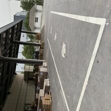 吳江馬路劃線、馬路車道線、馬路斑馬線、停車線、車位線圖片