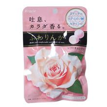 日本嘉娜宝Kracie玫瑰香体糖清新口气图片