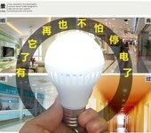 好美照明热销爆品厂家直销新款5W雷达感应加应急LED球泡灯应急微亮1.5W