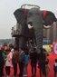 广西南宁梦幻灯光节出租人气巡游机械大象出租图片