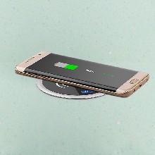 qi快充无线充电器三星S8NOTE8无线充无线充电器