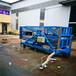 移动式铝合金升降机14米可放倒式液压升降平台酒店大厦专用平台