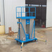 电动升降机特价12米铝合金升降机高空液压升降平台升降机价格厂家直销