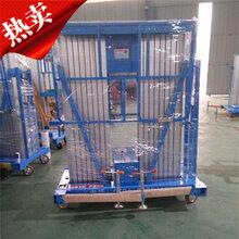 上海厂家供应液压升降平台铝合金升降机双柱铝合金升降平台图片