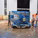 供应液压升降货梯移动铝合金式升降机四柱16米可放倒式电动液压升降机平台