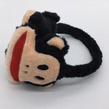 可爱大嘴猴耳罩立体卡通耳套学生冬季保暖耳罩冬季女孩耳套图片