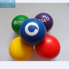 直销pu光面压力球柔软减压pu发泡球