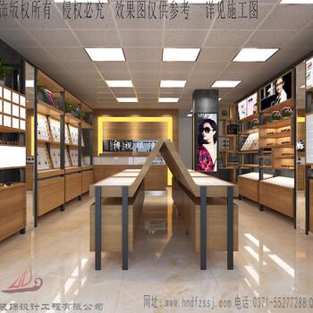 涿州眼镜店装修公司涿州眼镜展柜制作柜台设计制作