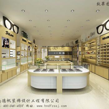 大同眼镜店装修公司大同眼镜店展柜制作柜台制作
