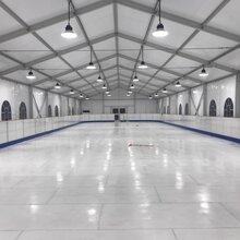 科诺仿真冰场采用优质UPE原料生产的仿真冰价格合理