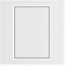 欧派电工电气白色空白面板