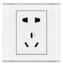 欧派电工电气二二三极插座
