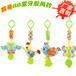 HAPPYMONKEY婴儿毛绒玩具卡通动物玩具款牙胶玩具风铃带BB器儿童玩具